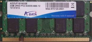 Adata 2GB PC2-6400S