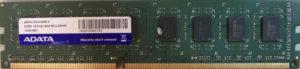 Adata 4GB PC3-10600U