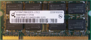 Qimonda 2GB PC2-6400S