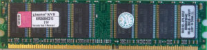 Kingston 1GB PC2100U