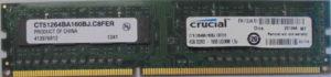 Crucial 4GB PC3-12800U