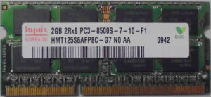 Hynix 2GB PC3-8500S