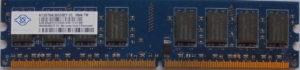 Nanya 2GB PC2-5300U
