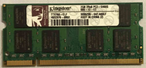 Kingston 2GB PC2-6400S