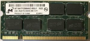 Micron 2GB PC2-6400S