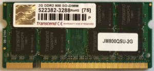 Transcend 2GB PC2-6400S