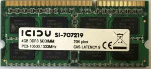 ICIDU 4GB PC3-10600S