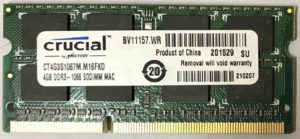 Crucial 4GB PC3-8500S