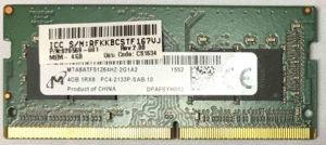 Micron 4GB PC4-2133P