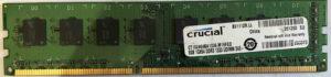 Crucial 8GB PC3-10600U
