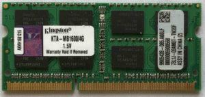 Kingston 4GB PC3-12800S