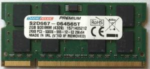 DaneElec 2GB PC2-5300S