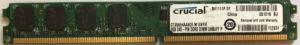Crucial 2GB PC2-6400U