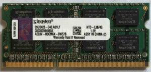 Kingston 4GB PC3-10600S