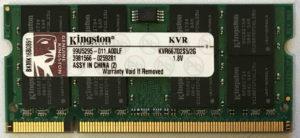 Kingston 2GB PC2-5300S