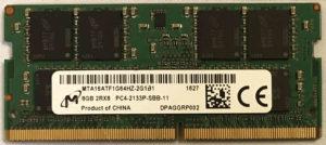 Micron 8GB PC4-2133P