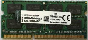 Kingston4GB PC3-8500S
